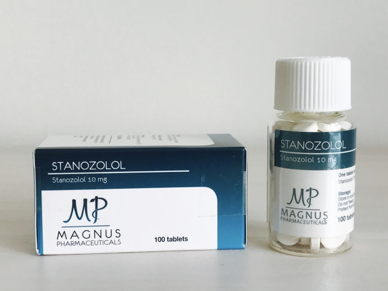 MAGNUS STANOZOLOL 10MG/TAB - ЦЕНА ЗА 100 ТАБ