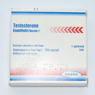 Testosterona enanthate (Тестостерон энантат) 250mg/ml Norma