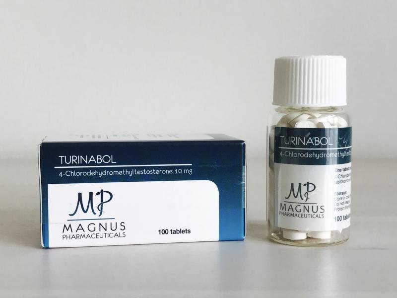 MAGNUS TURINABOL 10MG/TAB - ЦЕНА ЗА 100 ТАБ