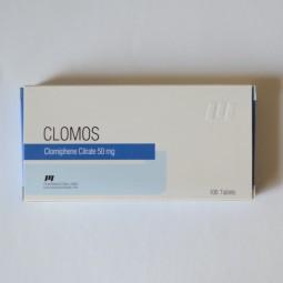 Clomos 50mg/tab - цена за 10 таблеток.